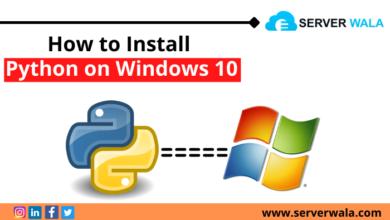 Install Python on Windows 10
