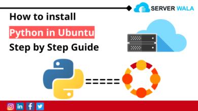install Python in Ubuntu
